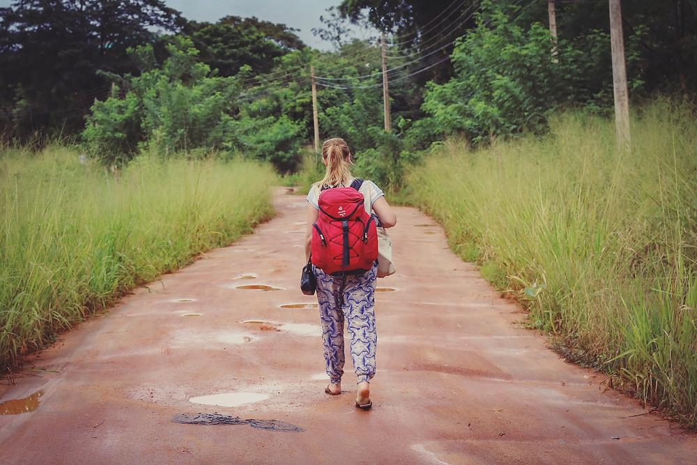 Backpacking in Sigiriya