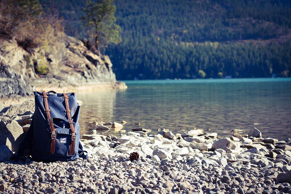 Herschel as travel bagpack