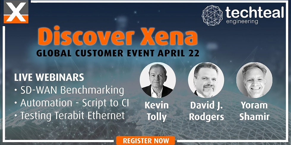 Discover Xena - Global Customer Event