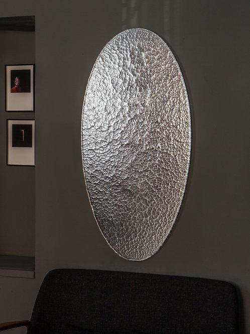 Birgit Severin - Oval Silver Mirror