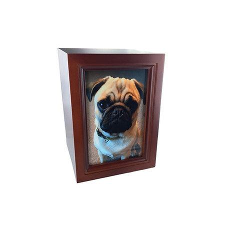Pet Wooden photo Urn