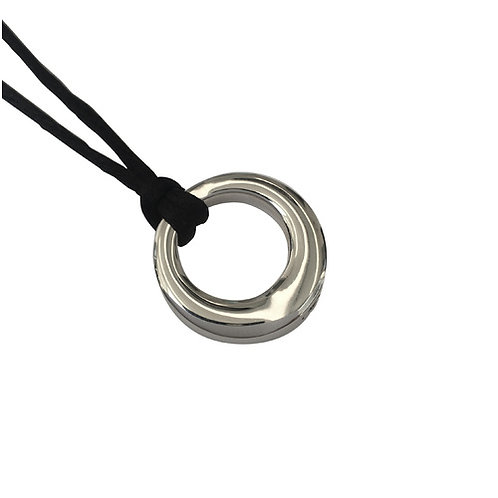 Eternity Circle Cremation Necklace