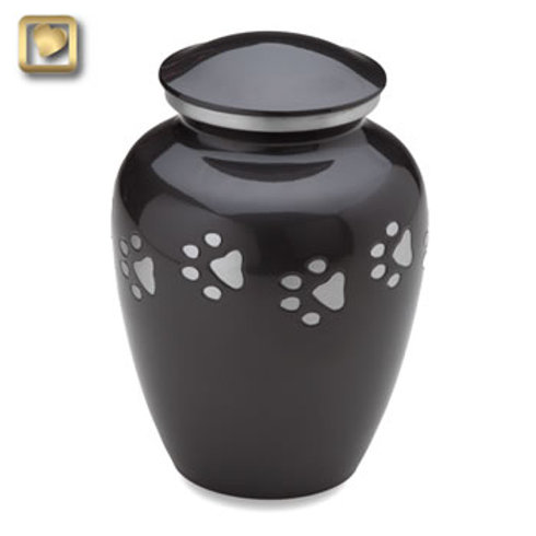 Classic Midnight (Silver Paws) Urn