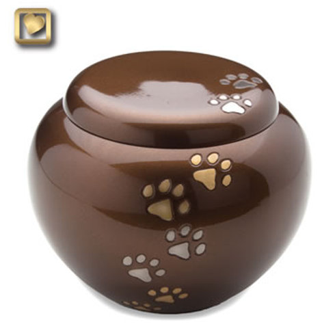 Bronze Cuddle  Urn
