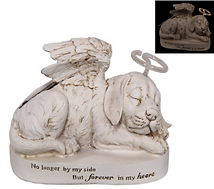 MEMORIAL DOG PLAQUE WITH HALO 24CM.PNG