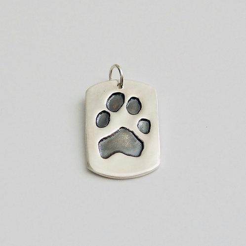 Pet Tag Pure Silver Pendant