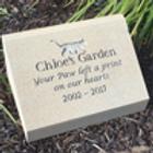 Sandstone Pet Headstone