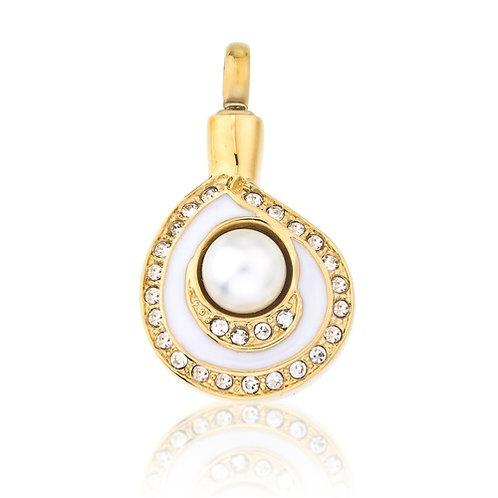 Pearl Tear Drop  Necklace