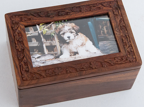 SHESHUM Carved Photo Box