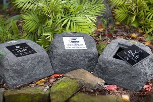 Artificial Stone Urn Pet Memorial