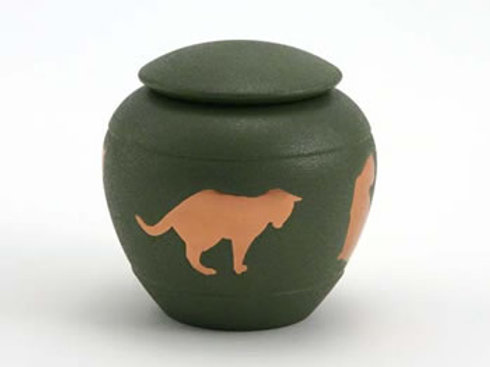 Silhouette Cat Urn