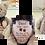 Thumbnail: Teddy bear Urn with Enclosed Satin Bag