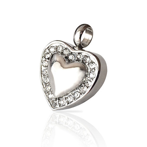 Sweet Heart Cremation Necklace