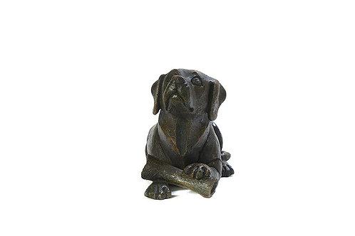 Dog with Bone Urn
