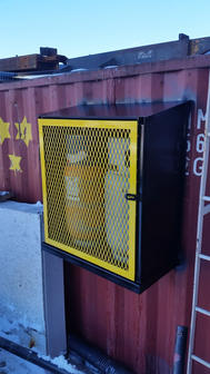 Commercial Steel Storage Cage for Propan