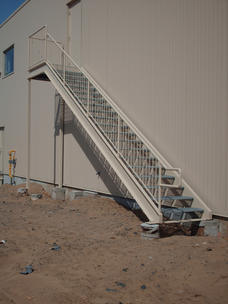 Commercial Steel Staircase