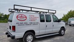 Commercial Steel Van Rack