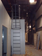 Steel Roof Access Ladder