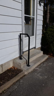 Residential Steel Accessibility Handrail