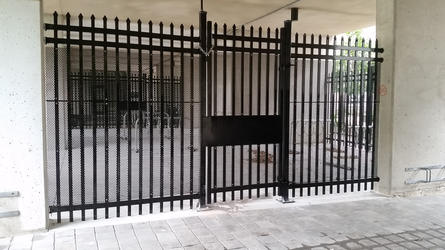 Commercial Steel Security Gate
