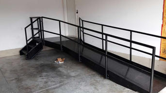Residential Steel Accessibility Ramp