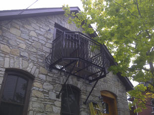 Residential Steel Balcony and Railings