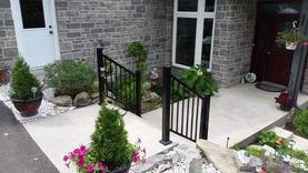 Residential Aluminum Railings