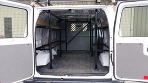 Commercial Interior Steel Van Rack