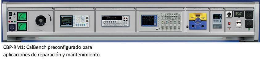 Panel de calibración, mantenimiento y reparacion