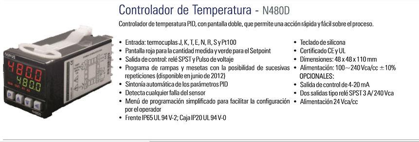Controlador, Temperatura, Universal, Indicador