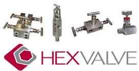 Valvulas para manometros e instrumentos