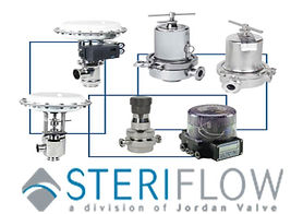 sanitary valves, steam, trap, clamps