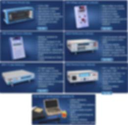 Calibrador procesos, Decadas portatiles y calibrador