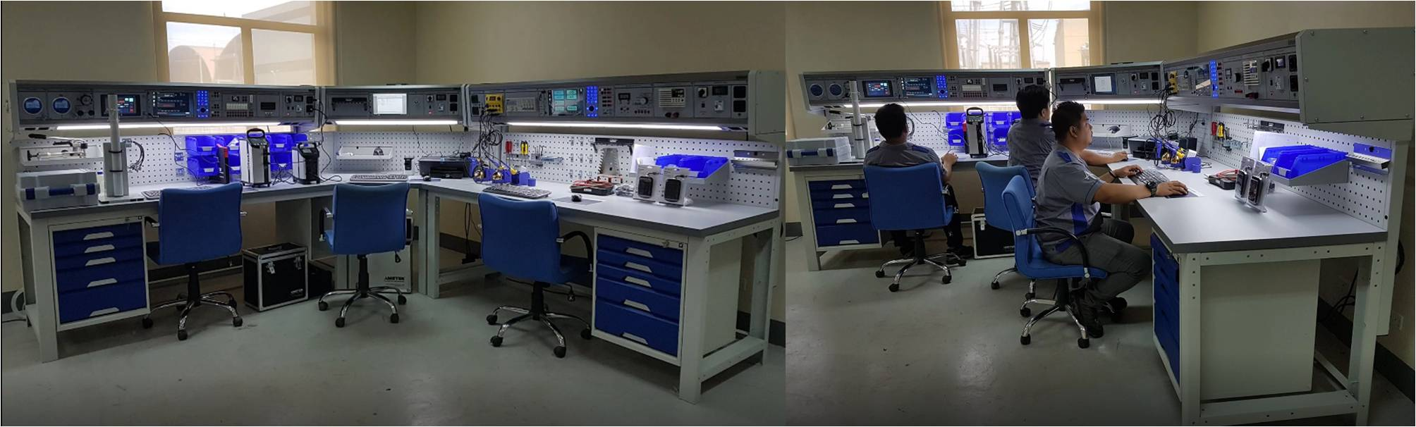 Configuración Lab. Calibración