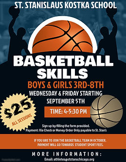 Copy of Basketball Tryouts Flyer - Made