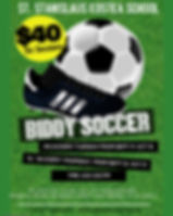 Copy of football soccer game flyer templ