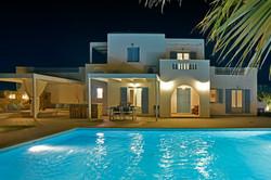 19 villa at night