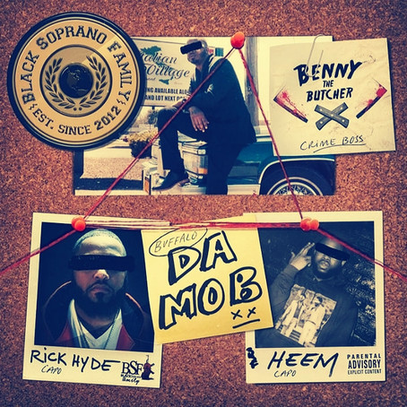Benny the Butcher, Rick Hyde and Heem Drop First Single Off Up Coming DJ Drama Project