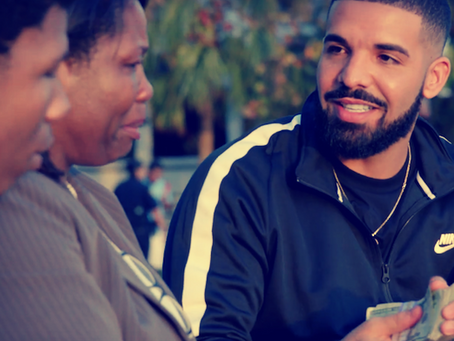 """[Watch] Drake Reaches a New Level of Philanthropy in New Music Video for """"God's Plan""""."""