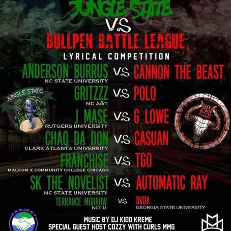 Jungle State Vs. BullPen Battle League