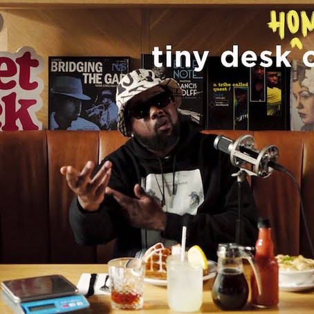 Conway The Machine Blesses Tiny Desk Concert with a Few Bangers