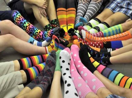 The Philosophy of Fun Socks