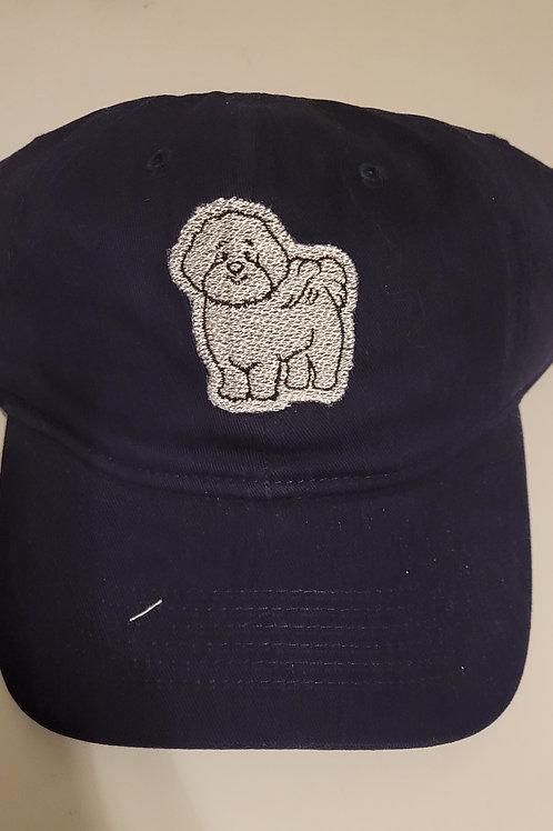 Bichon Baseball Cap