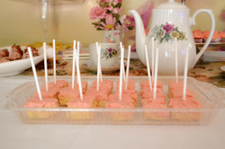Rice Krispies w/ Pink Chocolate