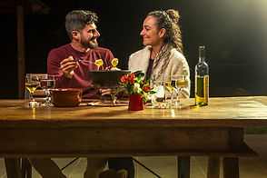 fondue, casal, Pousada Das Berghaus 21_6