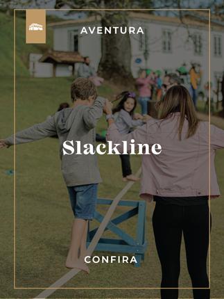 SLACKLINE Hotel Fazenda Dona Carolina