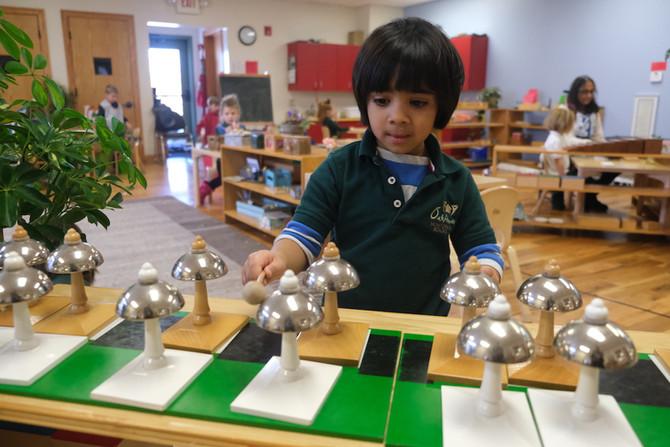 Work or Play? A Peek Inside the Montessori Classroom