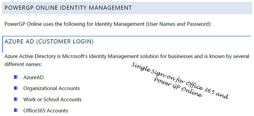 PowerGP ONLINE - Identity Management