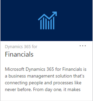 Link to full Microsoft Dynamics 365 Web Site