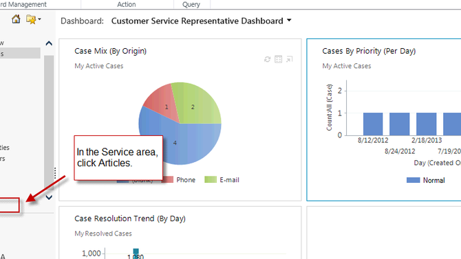 Dynamics CRM - The Magic of Knowledge Base Articles